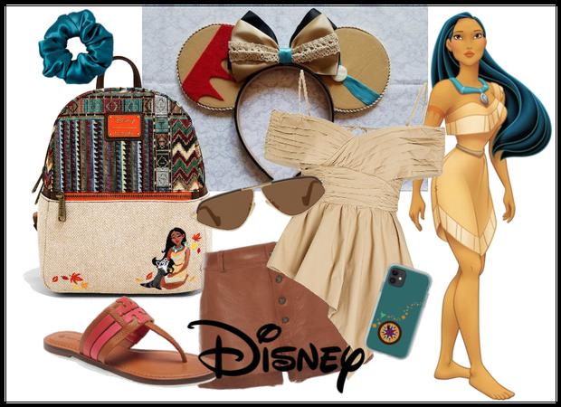 Pocahontas Inspired Disney Vacation