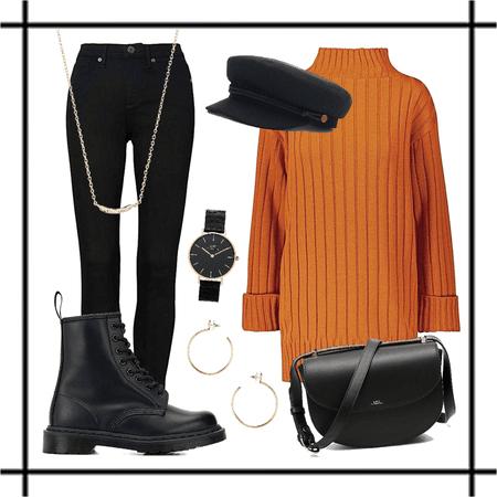 Autumn in Orange