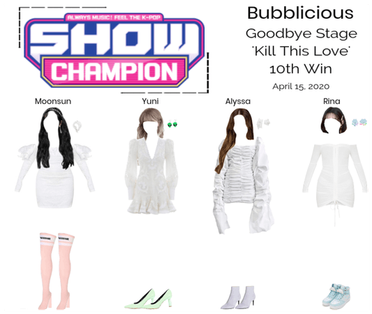 Bubblicious (신기한) 'Kill This Love' 10th Win