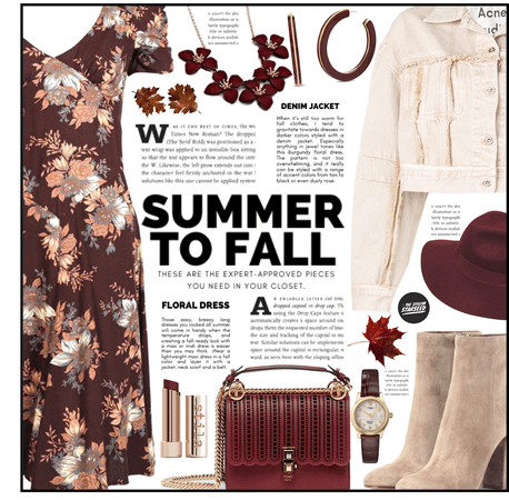 Goodbye Summer, Hello Fall