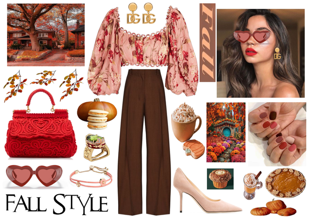 A refined and elegant autumn day look!