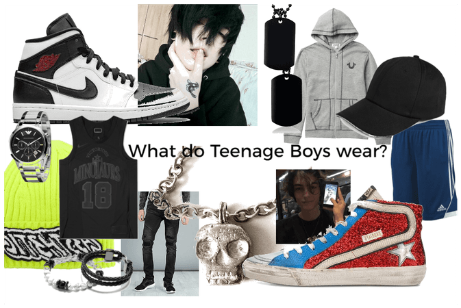 What do Teenage Boys wear?