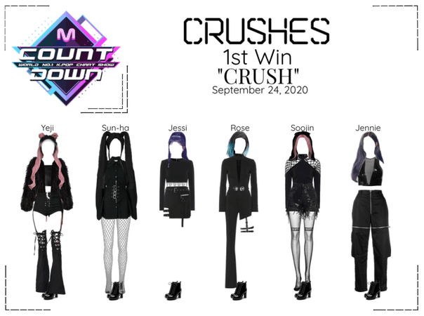"Crushes (호감) ""CRUSH"" 1st Win"