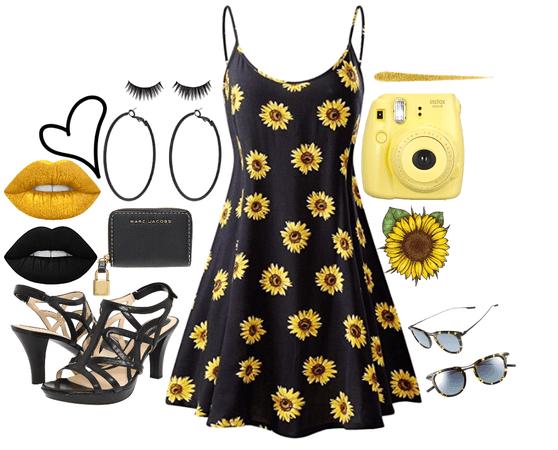 Goth Sunflower