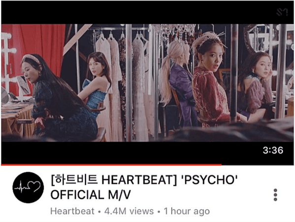 [HEARTBEAT] 'PSYCHO' OFFICIAL MUSIC VIDEO