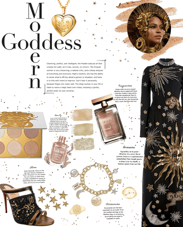 Modern Goddess (Inspired by the Virgo goddess herself, Queen Bey)