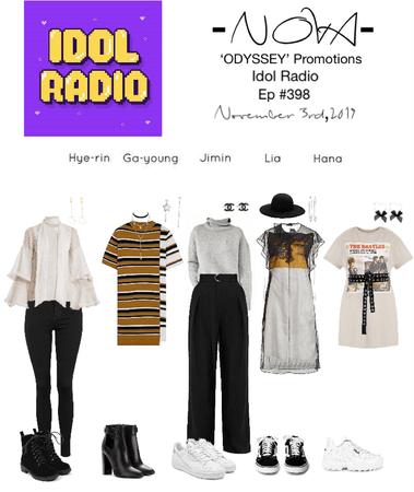 -NOVA- 'ODYSSEY' Promotions Idol Radio