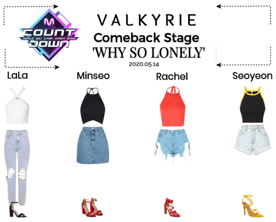 Valkyrie(발키리) Comeback Stage 'Why So Lonely'