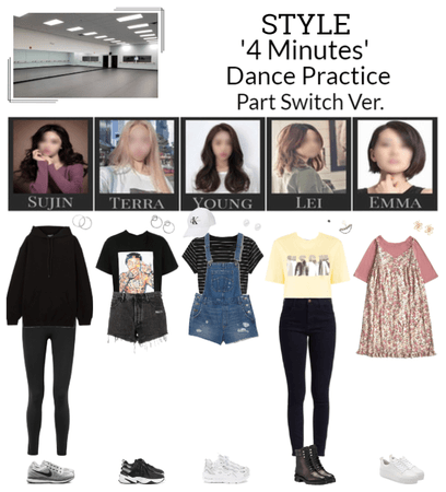 STYLE '4 Minutes' Dance Practice Part Switch Ver.