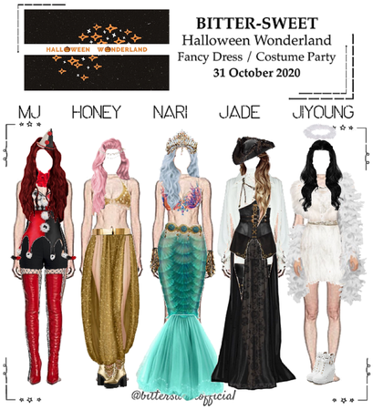 BITTER-SWEET [비터스윗] Halloween Wonderland Party 201031