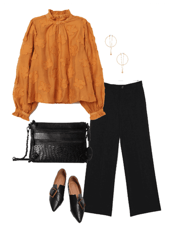 Dressy Thanksgiving Outfit Idea