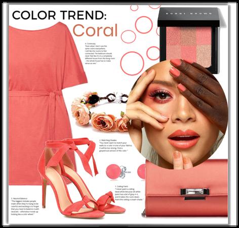 color trend : coral