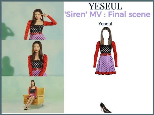 YESEUL- 'Siren' MV: Final scene