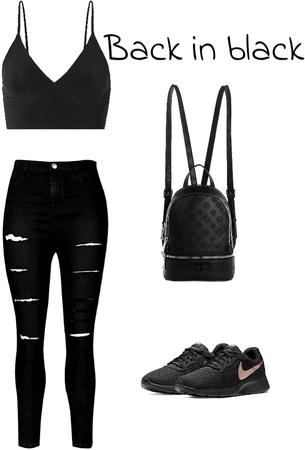 Teen back in Black