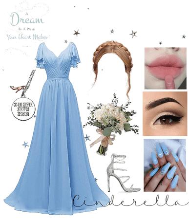 Cinderella Bridesmaid