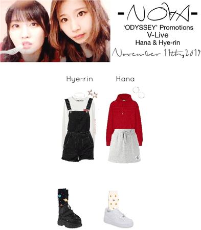 -NOVA- Hana & Hye-rin V-Live