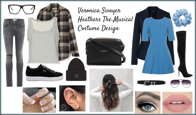 Veronica Sawyer Costume Design From Heathers
