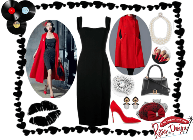 Bold and Glamorous 50's