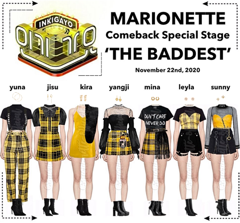 MARIONETTE (마리오네트) [INKIGAYO] Comeback Special Stage | 'THE BADDEST'