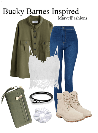Bucky Barnes Inspired Outfit