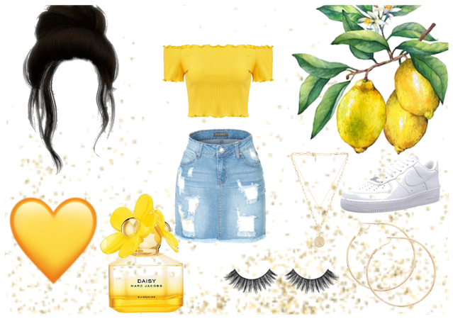 yellow gemini outfit