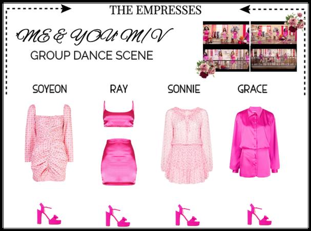 [EMPRESS] 'ME & YOU' M/V | GROUP DANCE SCENE #1