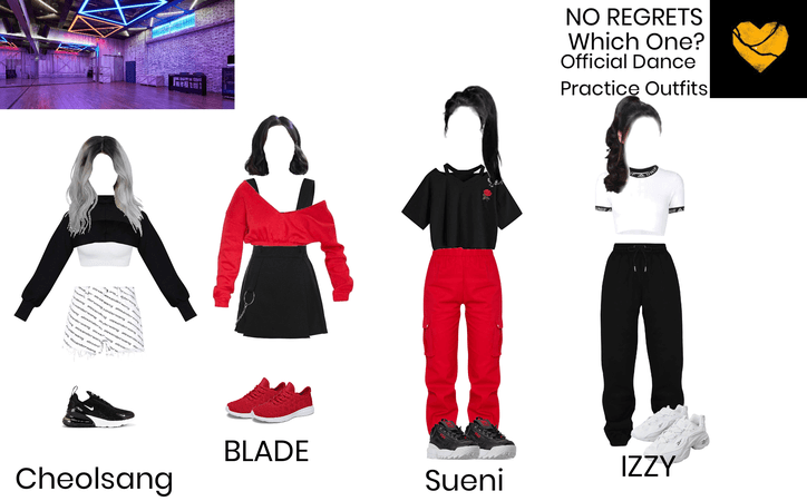 Which One? Official Dance Practice Outfits
