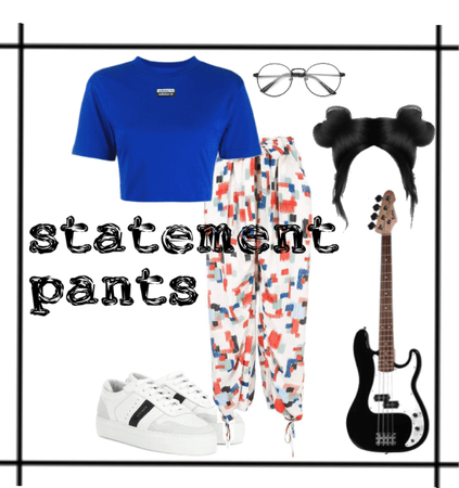Statement Pants Challenge