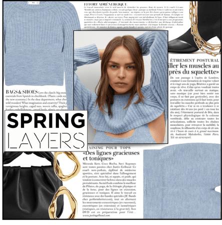 Fashion Fashion: Blue Knit Sweater, Tank, & Shorts - Contest