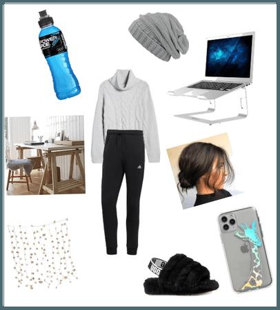 quarantine work outfit