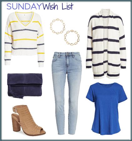 Sunday Wish List 1/6