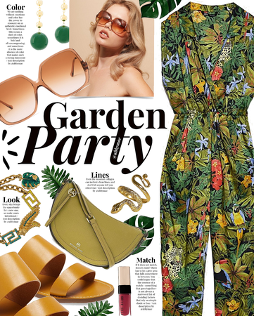 garden party | @looksbylyla romper contest