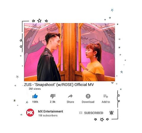 ZUS// 'Snapshoot' w/ROSE Official MV