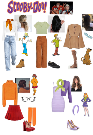 ScoobyDoo group costume
