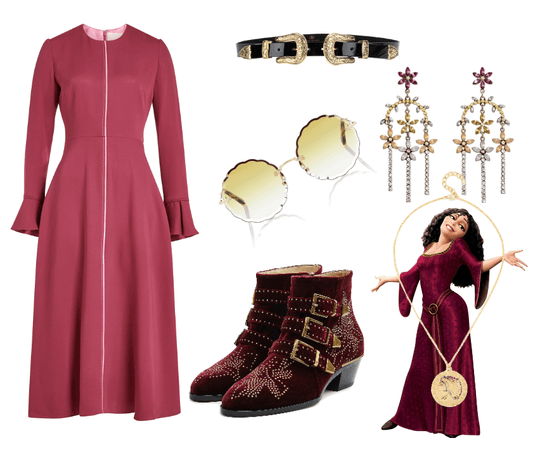 Mother Gothel Disneybound - Tangled