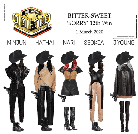 BITTER-SWEET [비터스윗] Inkigayo 200301