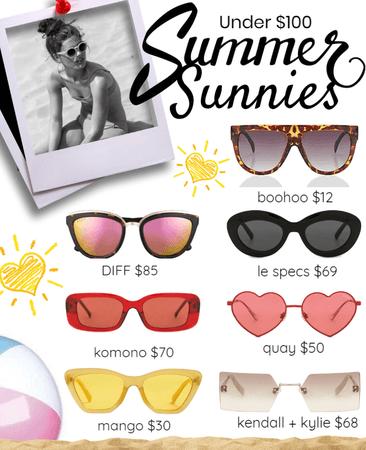 Summer Sunnies Under $100