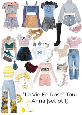 """La Vie En Rose"" Tour - Anna [set pt 1]"