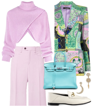fall in pink - versace