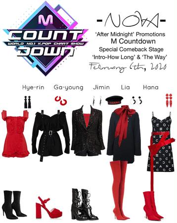 -NOVA- 'After Midnight' M Countdown Stage