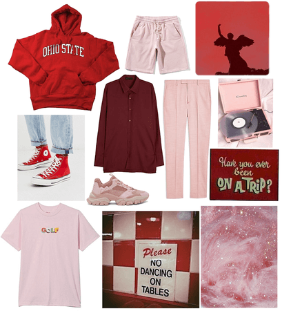 red+pink