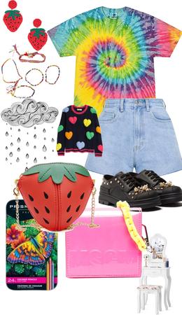 strawberry kidcore 🍓✨