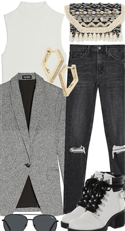 Style it with a blazer
