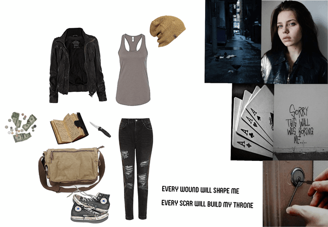 Batfamily oc Street clothes