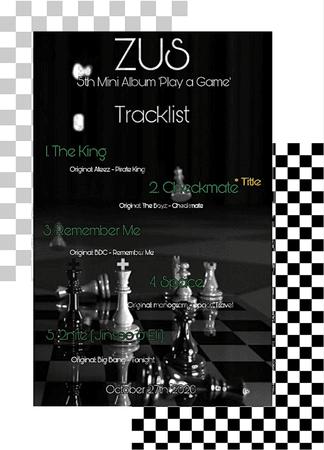 Zus// 5th Mini Album 'Play a Game' Tracklist