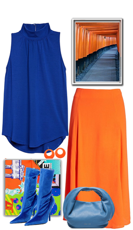 Complementary Colors | Blue and Orange