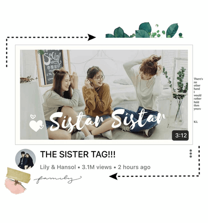 〖Lily&Hansol〗 The Sister Tag