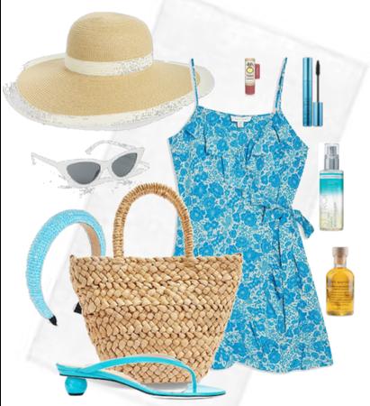 Blue Beach Babe