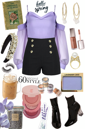 styled in 60 seconds - spring edition