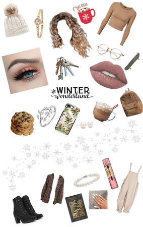 What winter would wear as a person.